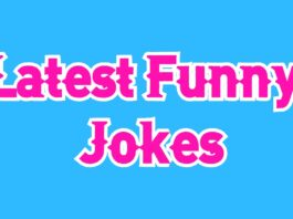 Latest Funny Jokes